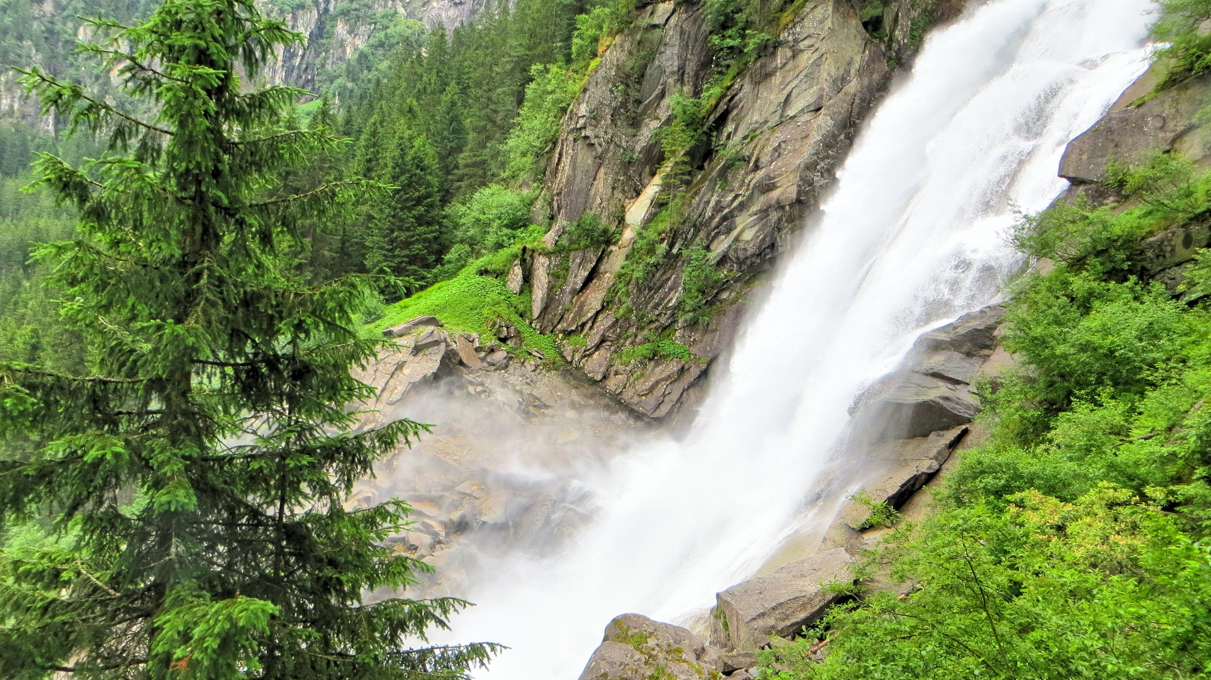 největší vodopády v Rakousku
