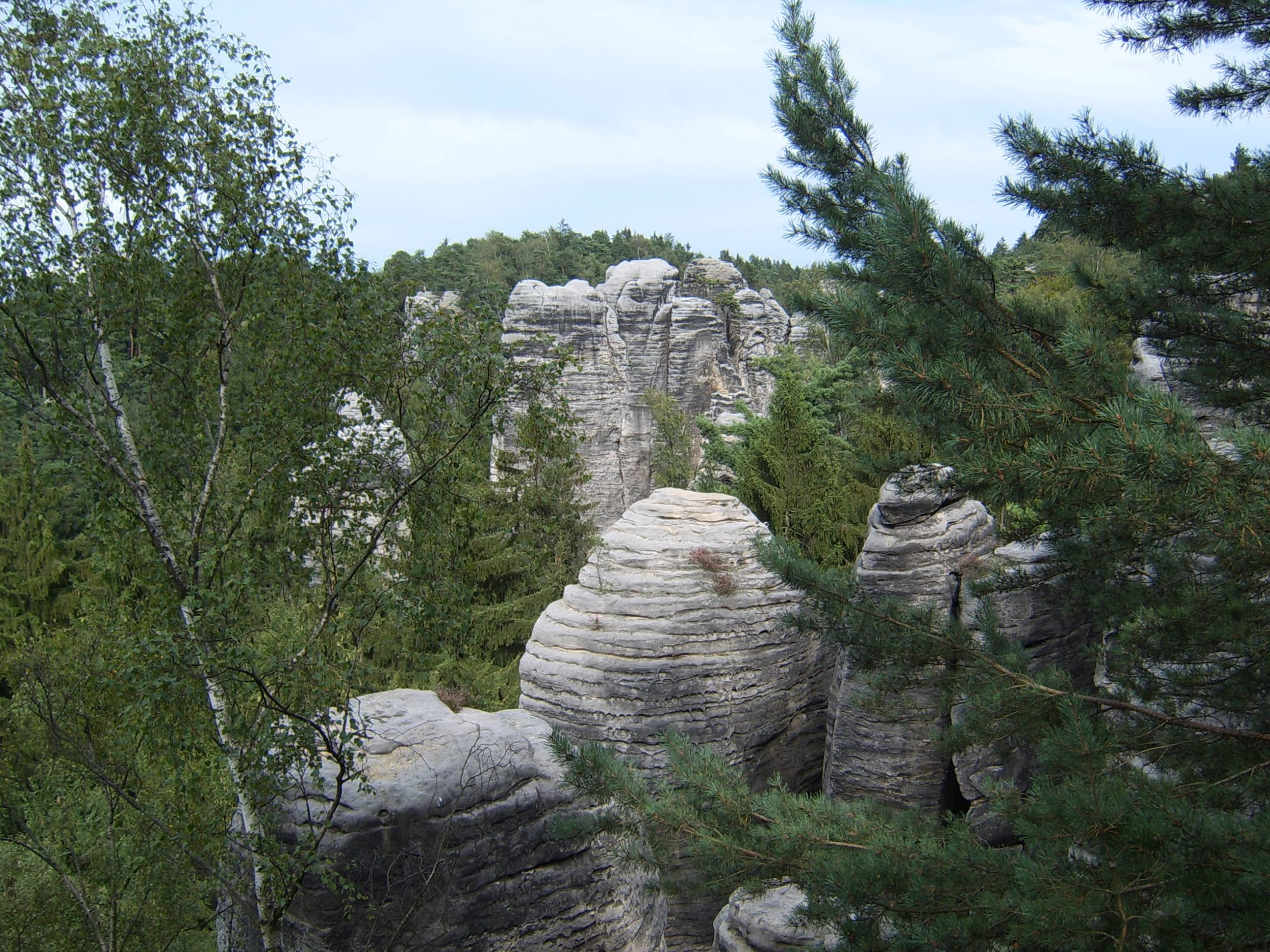 Sedmihorky, Valdštejn, Hrubá Skála, Trosky